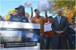 LICA - LICA Joins Belmont Jobs Rally